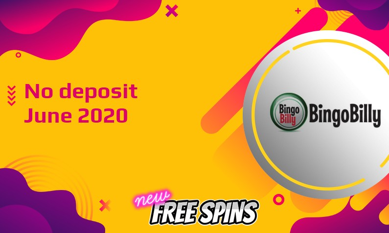 Latest BingoBilly Casino no deposit bonus- 13th of June 2020