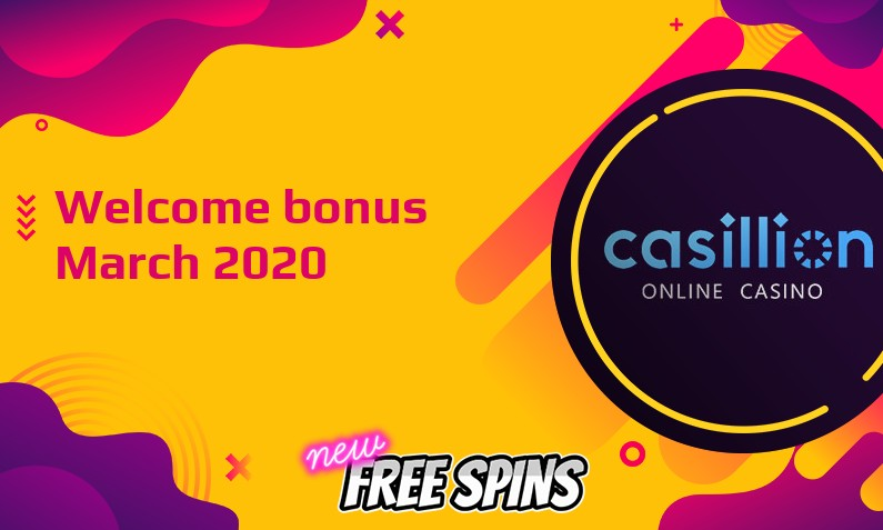 Latest Casillion Casino bonus, 100 Bonus-spins