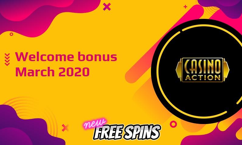 Latest Casino Action bonus