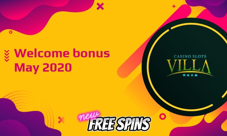 Latest Casino Slots Villa bonus
