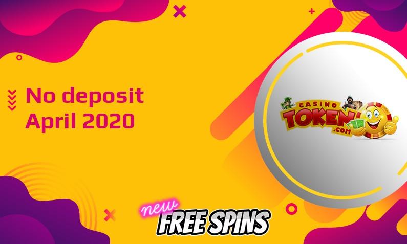 Latest Casino Token no deposit bonus, today 6th of April 2020