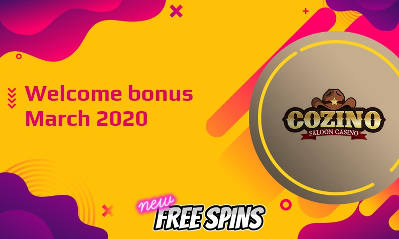 Latest Cozino Casino bonus, 50 Freespins