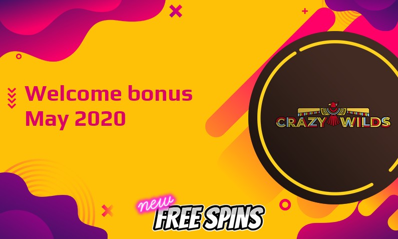 Latest Crazy Wilds bonus, 25 Free spins