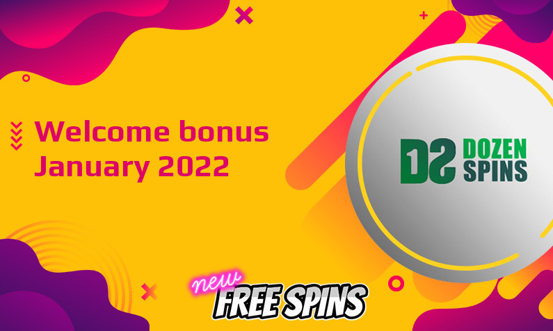 Latest DozenSpins bonus, 120 Bonus spins