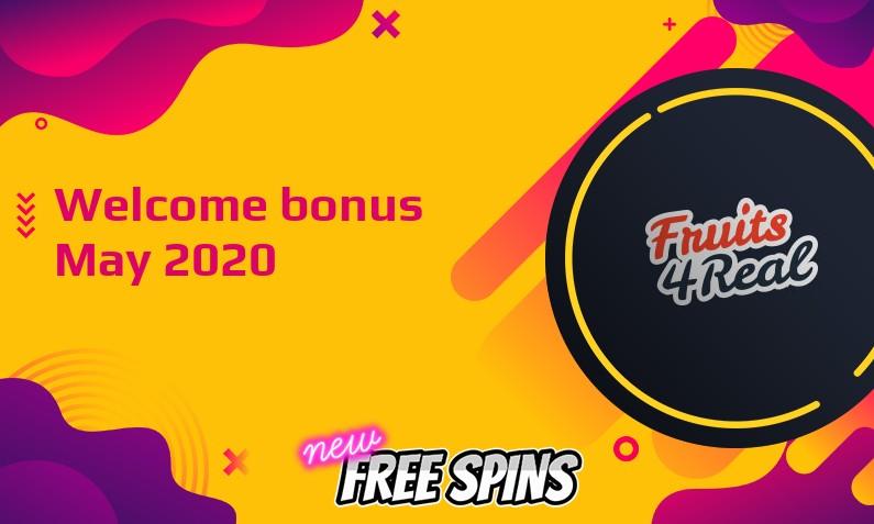 Latest Fruits4Real bonus, 60 Extra spins
