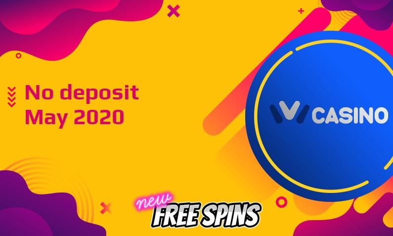 Latest IviCasino no deposit bonus, today 28th of May 2020