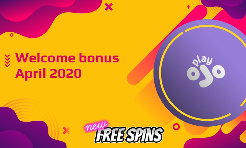 Latest Play Ojo Casino bonus April 2020, 90 Bonus spins