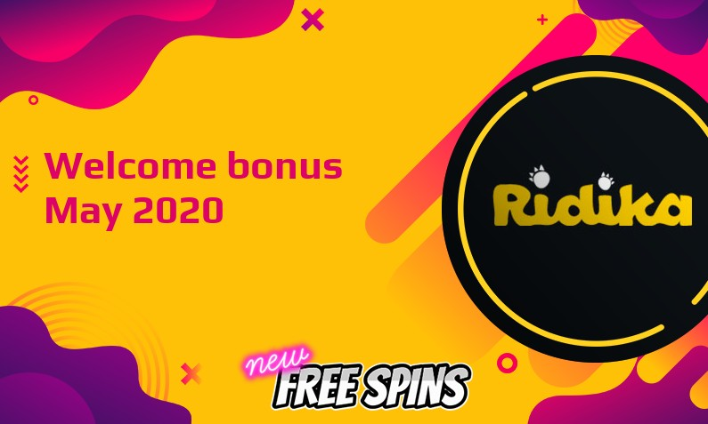 Latest Ridika Casino bonus, 66 Bonus spins
