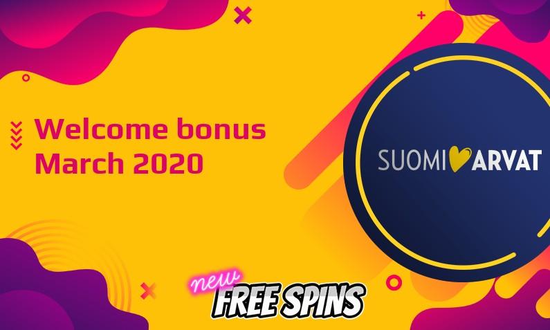 Latest SuomiArvat bonus, 100 Spins