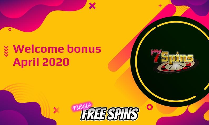 New bonus from 7Spins Casino, 30 Free spins bonus