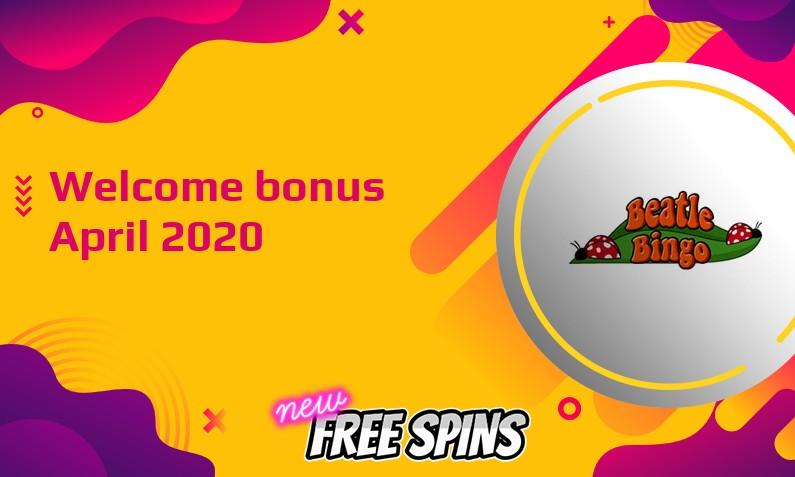 New bonus from Beatle Bingo Casino