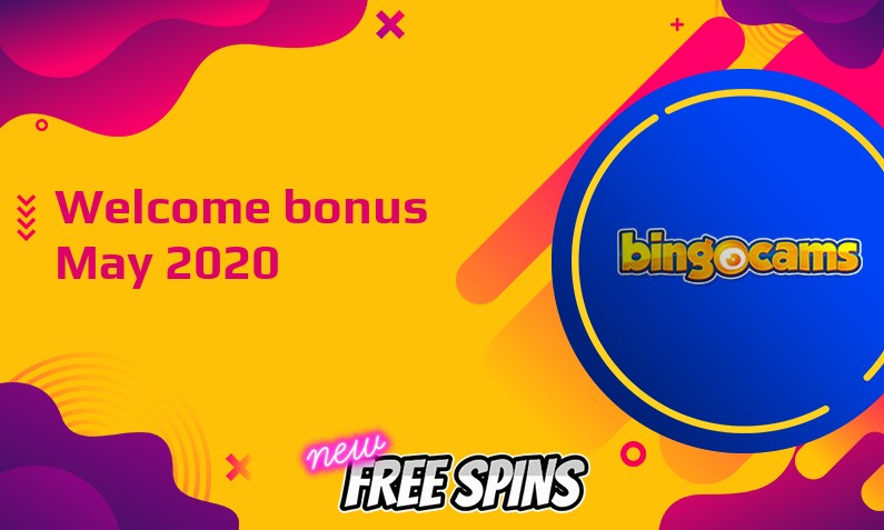 New bonus from Bingocams May 2020, 25 Extra spins