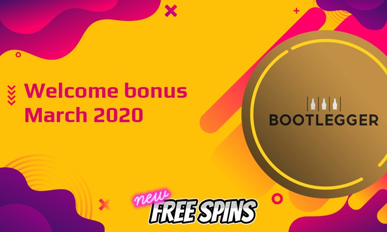 New bonus from Bootlegger Casino March 2020, 100 Bonus-spins