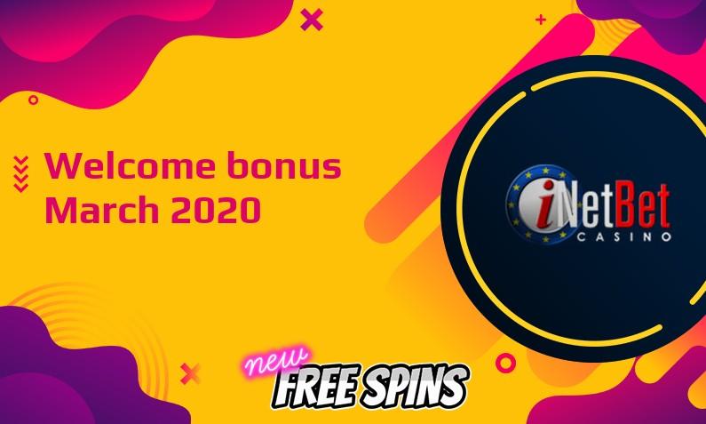 New bonus from Inetbet Casino March 2020
