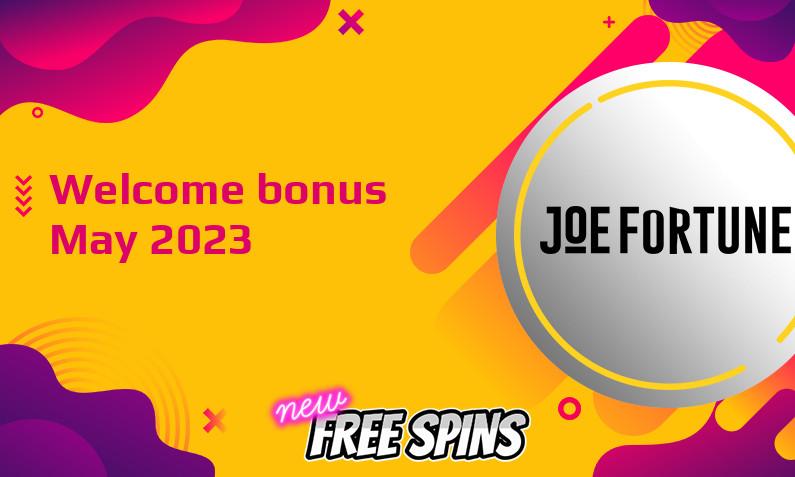 New bonus from Joe Fortune