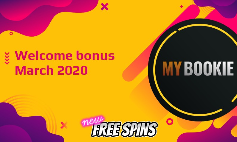 New bonus from MyBookie March 2020