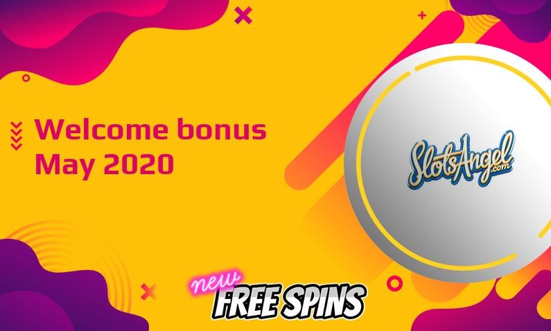 New bonus from Slots Angel Casino May 2020, 25 Freespins