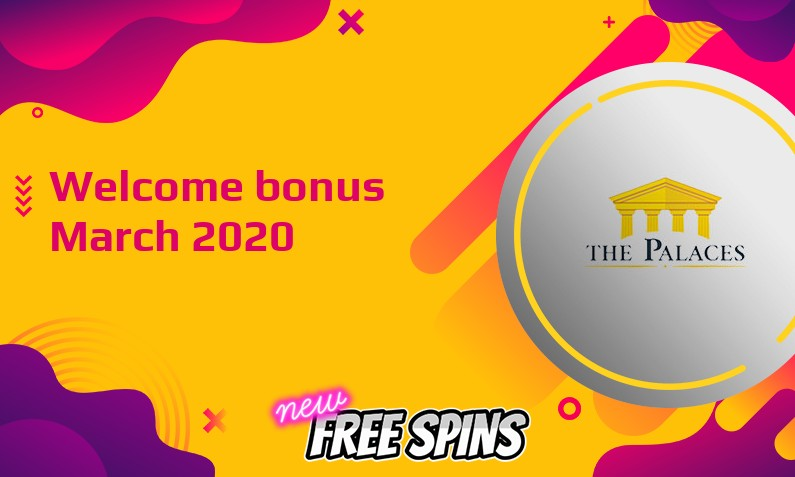 New bonus from The Palaces Casino, 50 Free spins