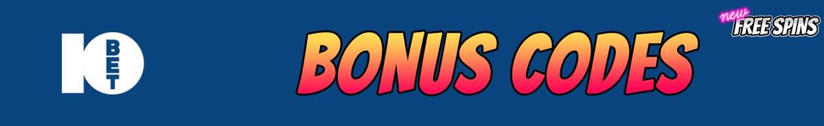 10Bet Casino-bonus-codes