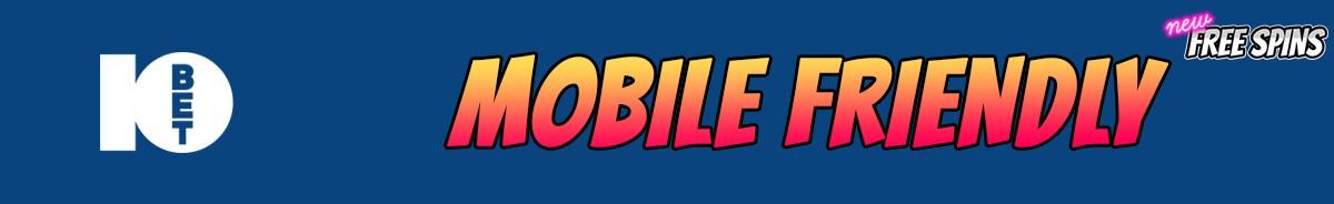 10Bet Casino-mobile-friendly