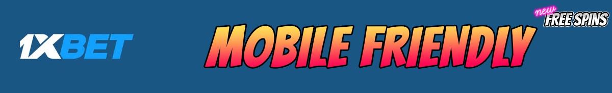 1xBet Casino-mobile-friendly