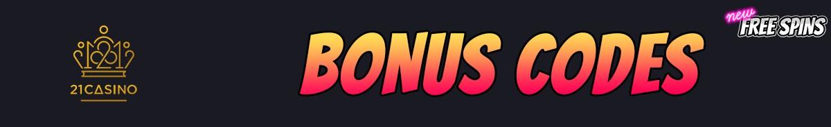 21 Casino-bonus-codes