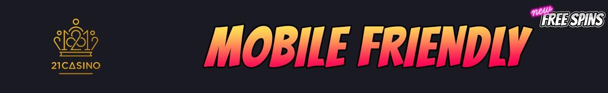 21 Casino-mobile-friendly