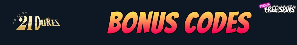 21 Dukes Casino-bonus-codes