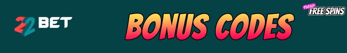 22Bet Casino-bonus-codes