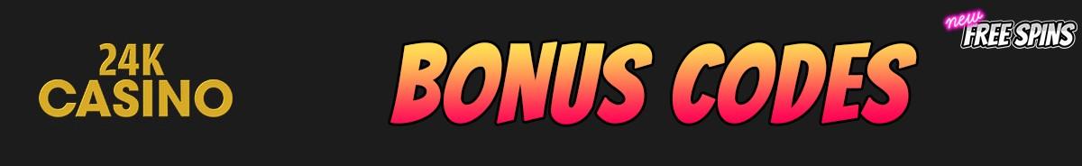 24k Casino-bonus-codes