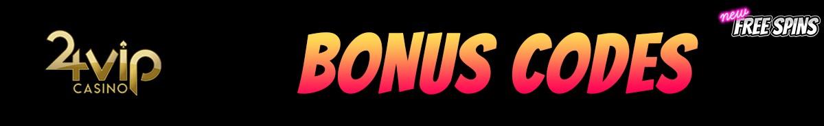 24VIP Casino-bonus-codes