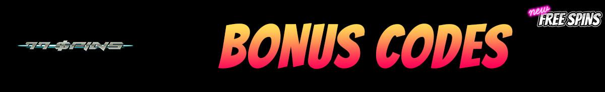 77Spins-bonus-codes
