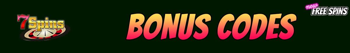 7Spins Casino-bonus-codes