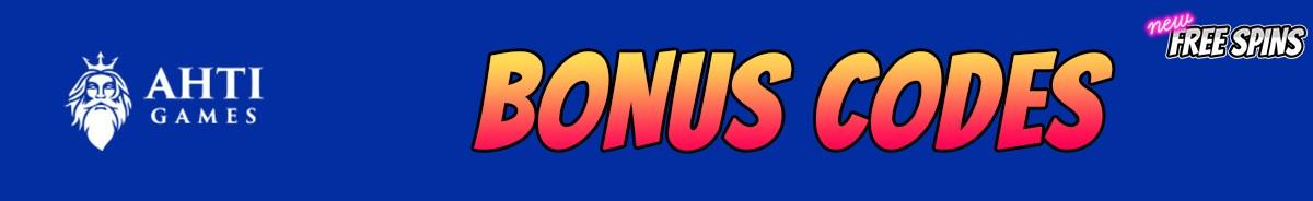Ahti Games Casino-bonus-codes
