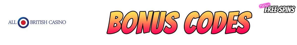 All British Casino-bonus-codes