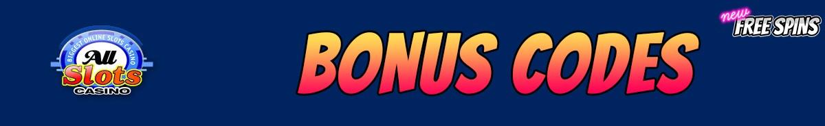 All Slots Casino-bonus-codes