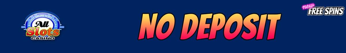 Latest All Slots Casino No Deposit Bonus November 2020 New Free Spins