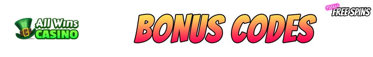 All Wins Casino-bonus-codes