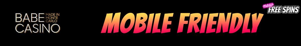 Babe Casino-mobile-friendly