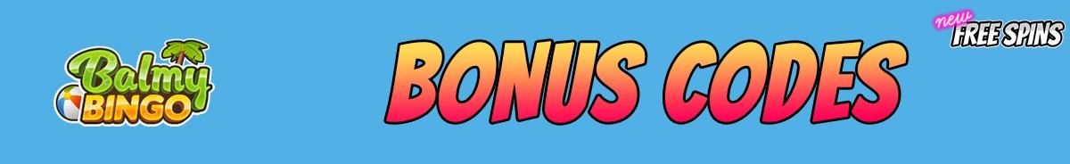 Balmy Bingo-bonus-codes