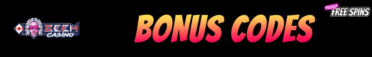 Beem Casino-bonus-codes