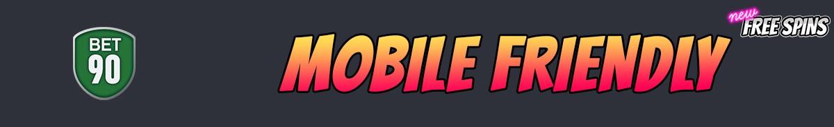 Bet90 Casino-mobile-friendly