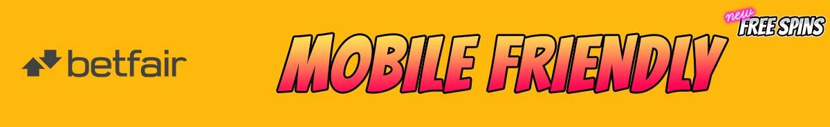 Betfair Casino-mobile-friendly