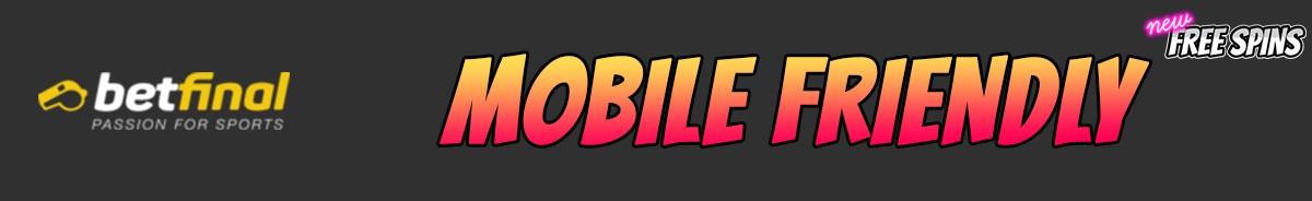 Betfinal Casino-mobile-friendly
