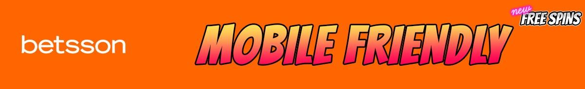 Betsson Casino-mobile-friendly