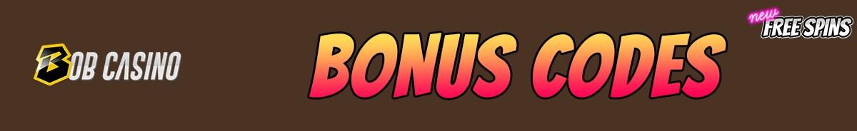 Bob Casino-bonus-codes