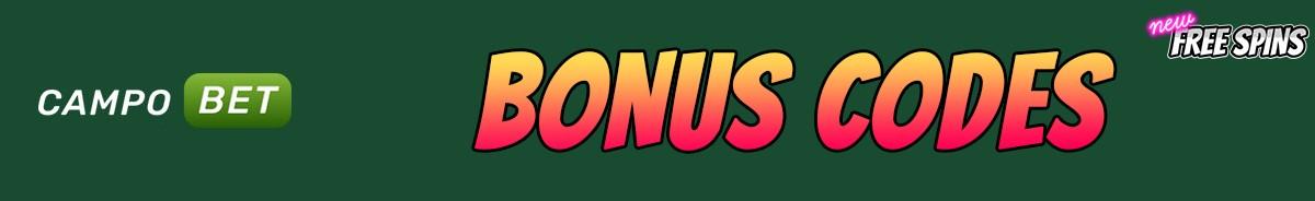 CampoBet Casino-bonus-codes