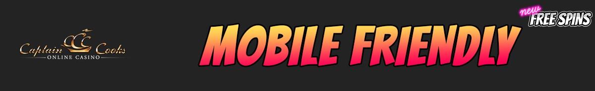Captain Cooks Casino-mobile-friendly