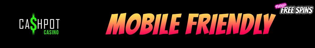 Cashpot Casino-mobile-friendly