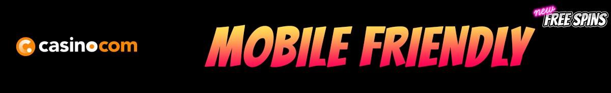 Casino com-mobile-friendly
